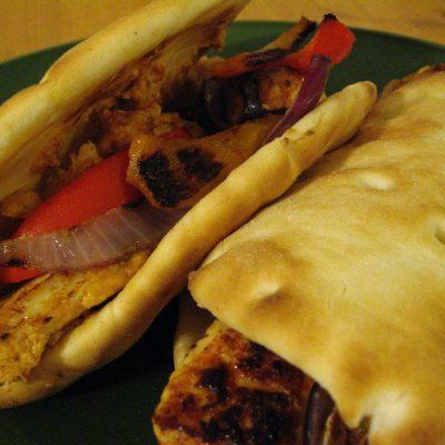 Israeli Spice Chicken w/ Homemade Hummus (gf)