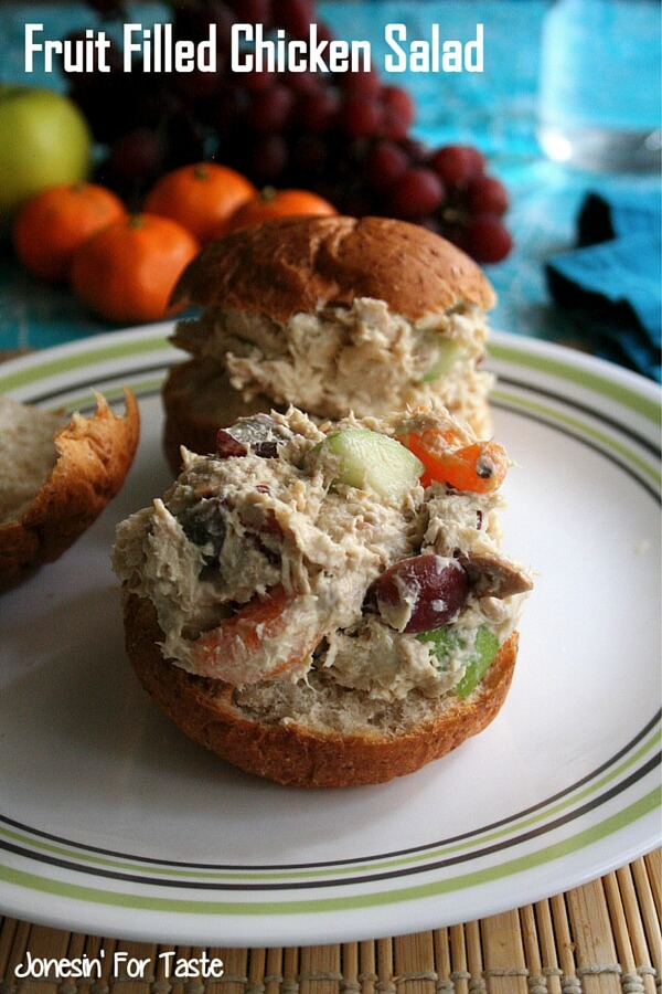 Fruit Filled Chicken Salad