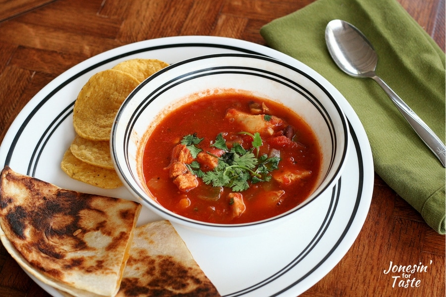 Simple, easy, and hearty Chicken Tortilla Soup will become a favorite go-to dinner.