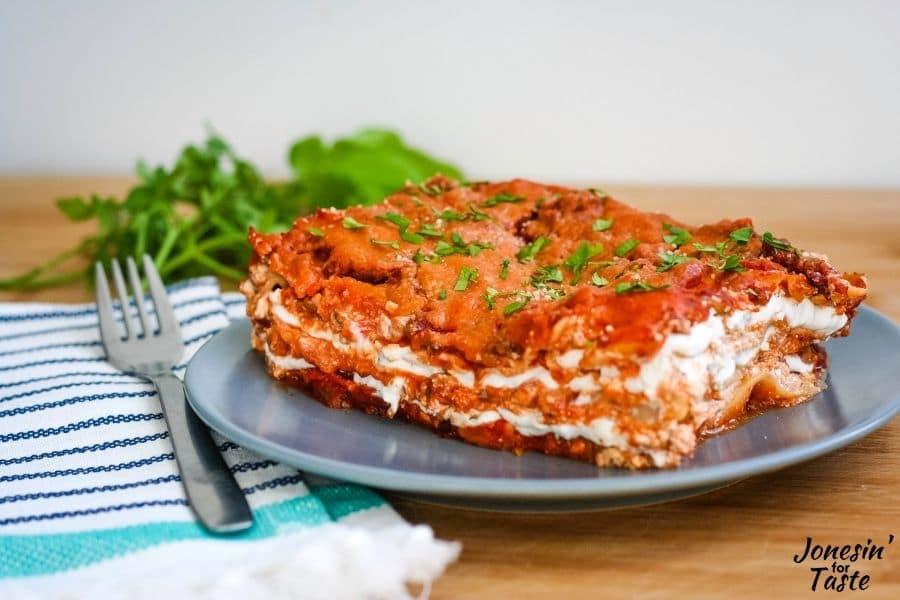 Goat Cheese Lasagna