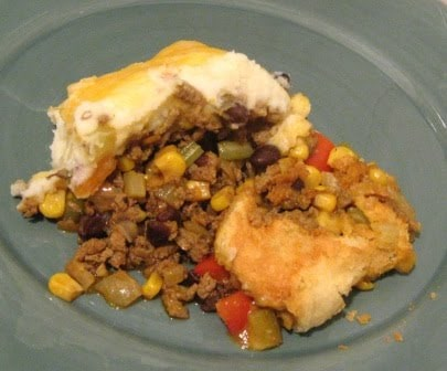 South of the Border Shepherd's Pie