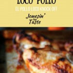 Whip up a simple marinade and grill or broil this chicken for a juicy El Pollo Loco knock off. Pair with tortillas and rice and beans for an easy dinner.