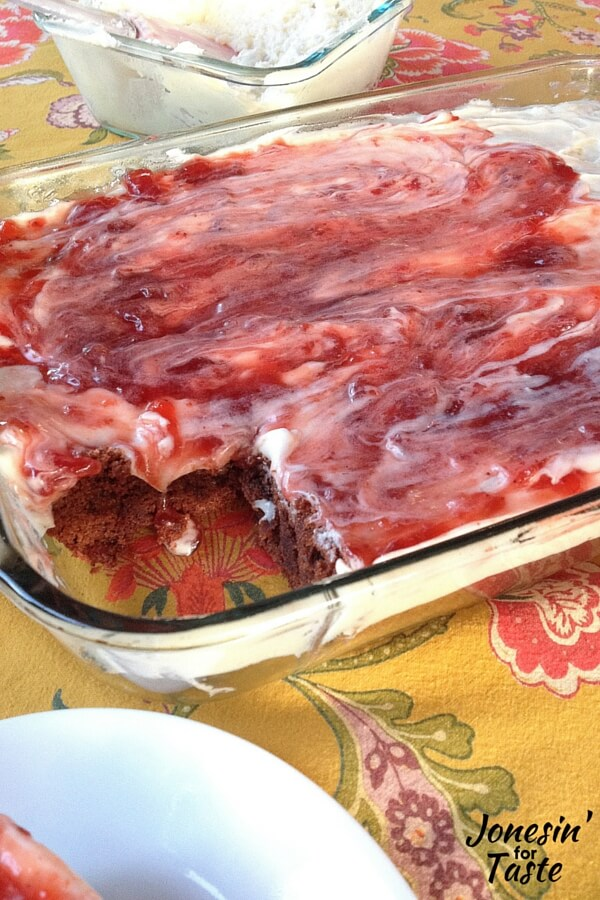 Strawberry Cream Cheese Brownies-CONTENT