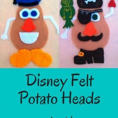 Disney Felt Potato Heads