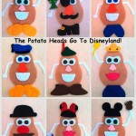 Disney Felt Potato Heads