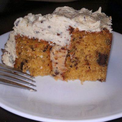 Triple Chocolate Chip Cookie Dough Cake