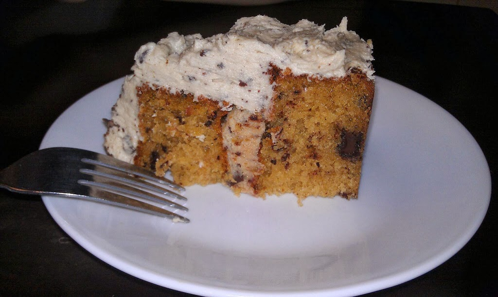 Triple Chocolate Chip Cookie Dough Cake
