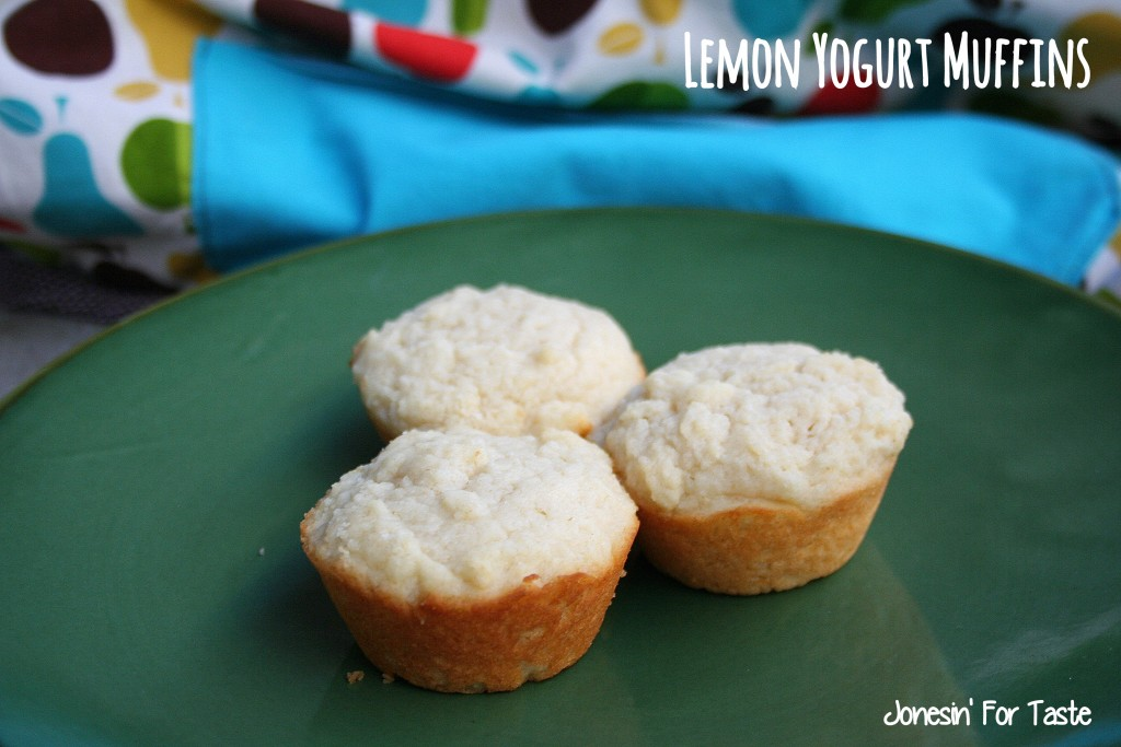 Light and tangy these Lemon Yogurt Muffins are sure to start your mornings off right.