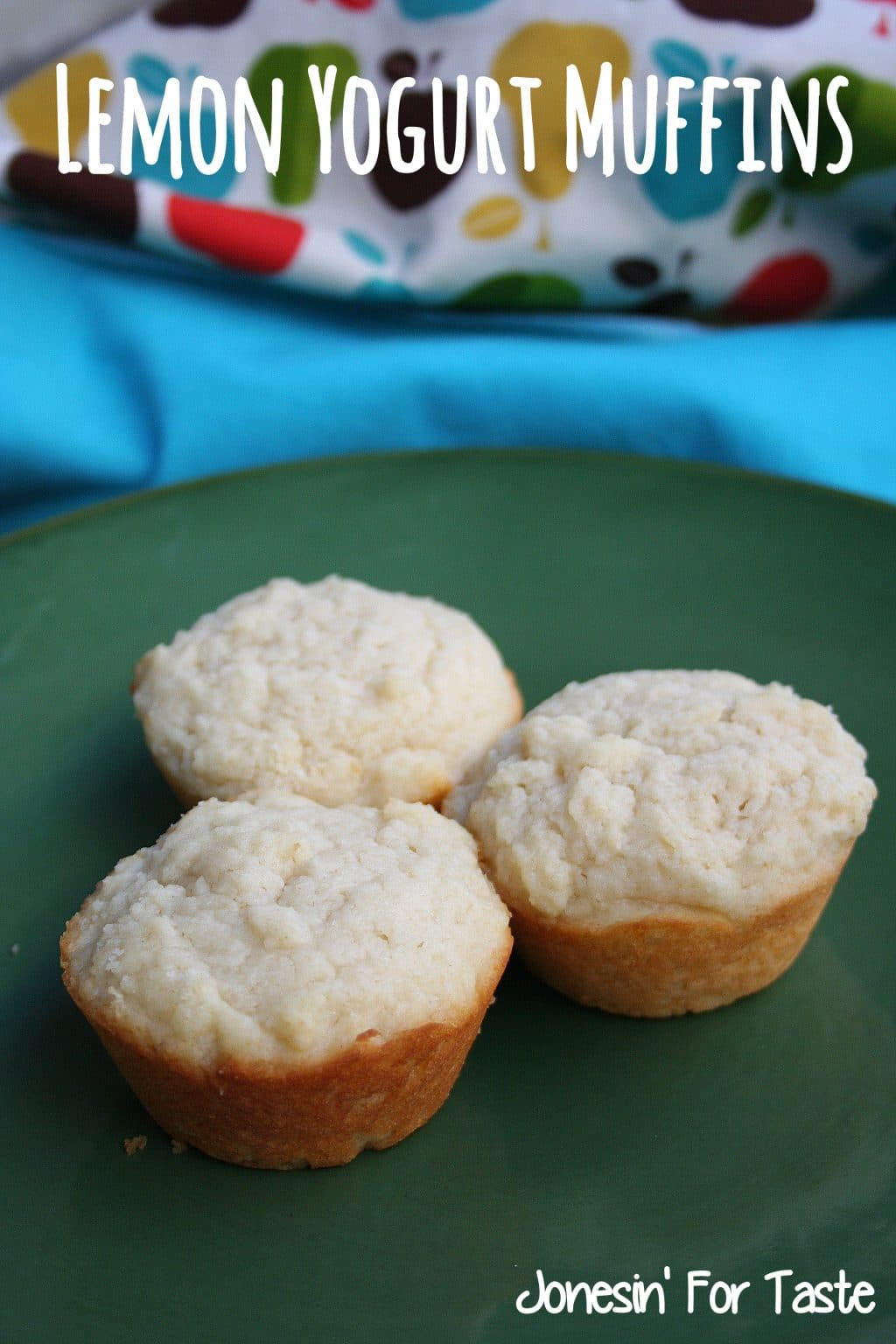 Lemony Yogurt Muffins