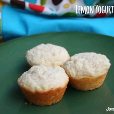 Lemon Yogurt Muffins + 5 variations