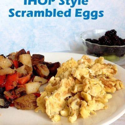 IHOP style eggs