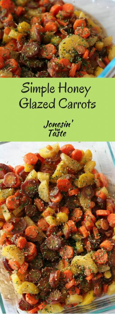 Simple Honey Glazed Carrots