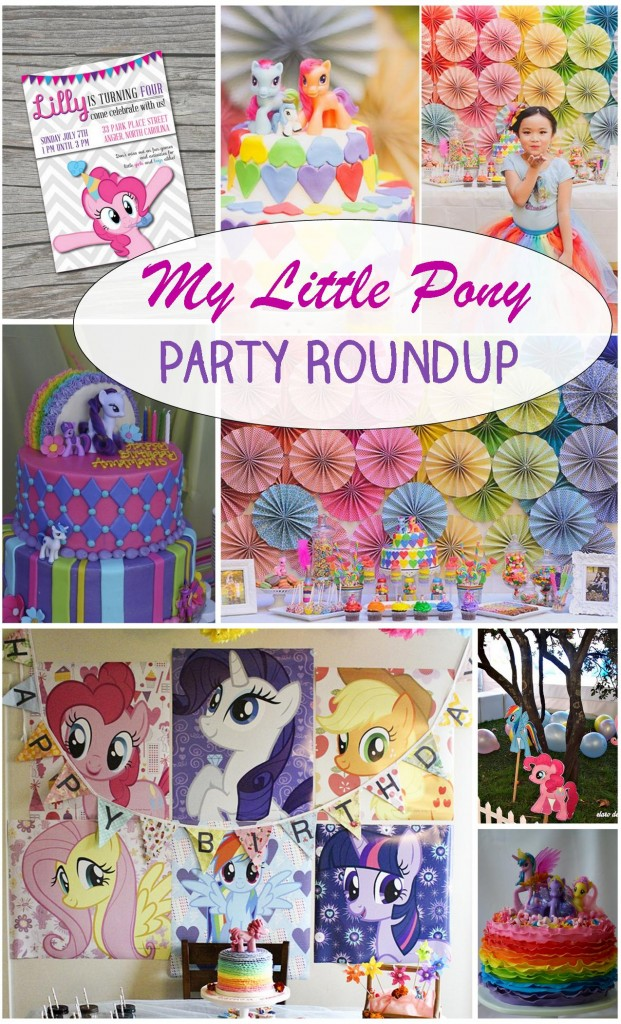 My Little Pony Party Roundup