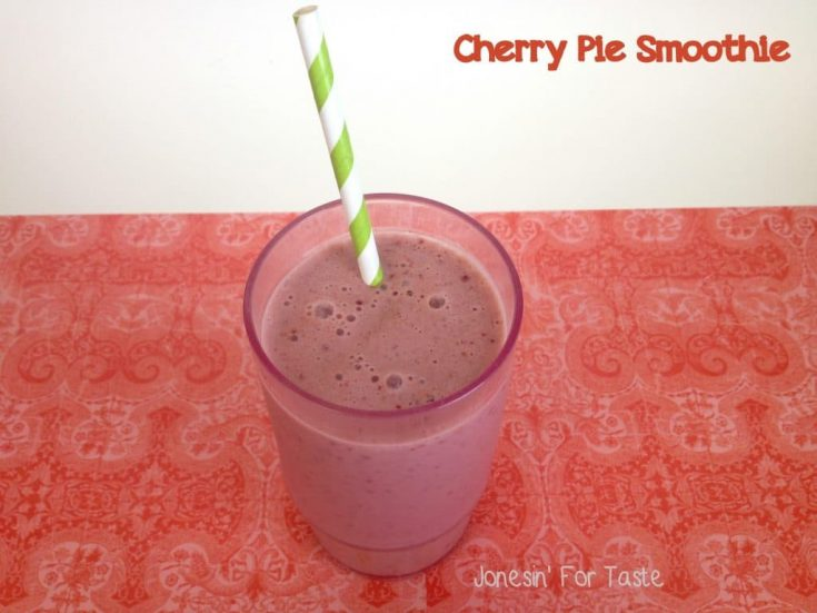 Cherry Pie Smoothie