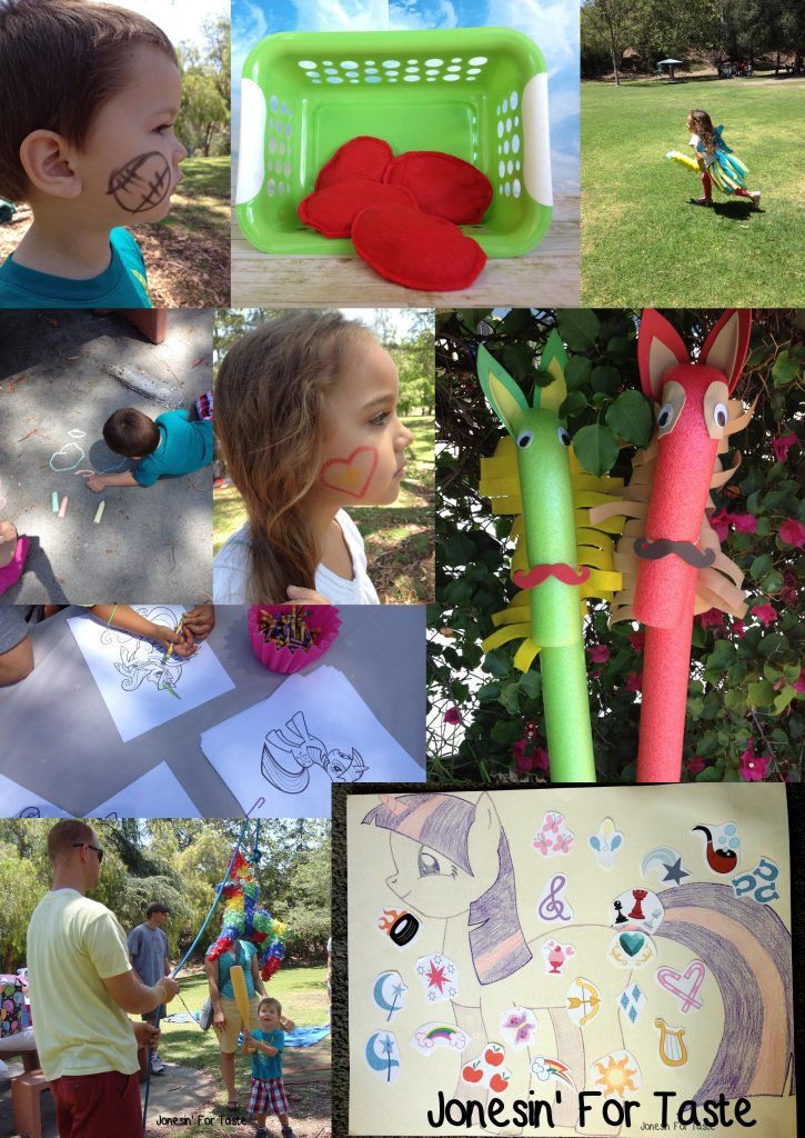 DIY Budget My Little Pony Party