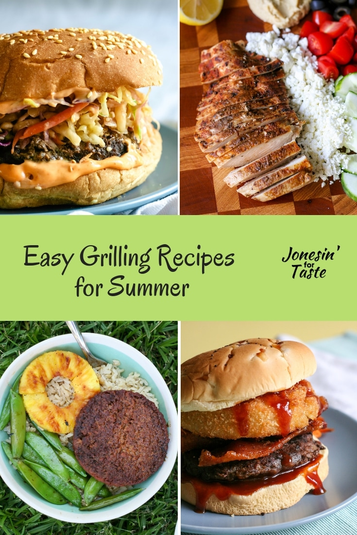 Easy Grilling Recipes For Summer