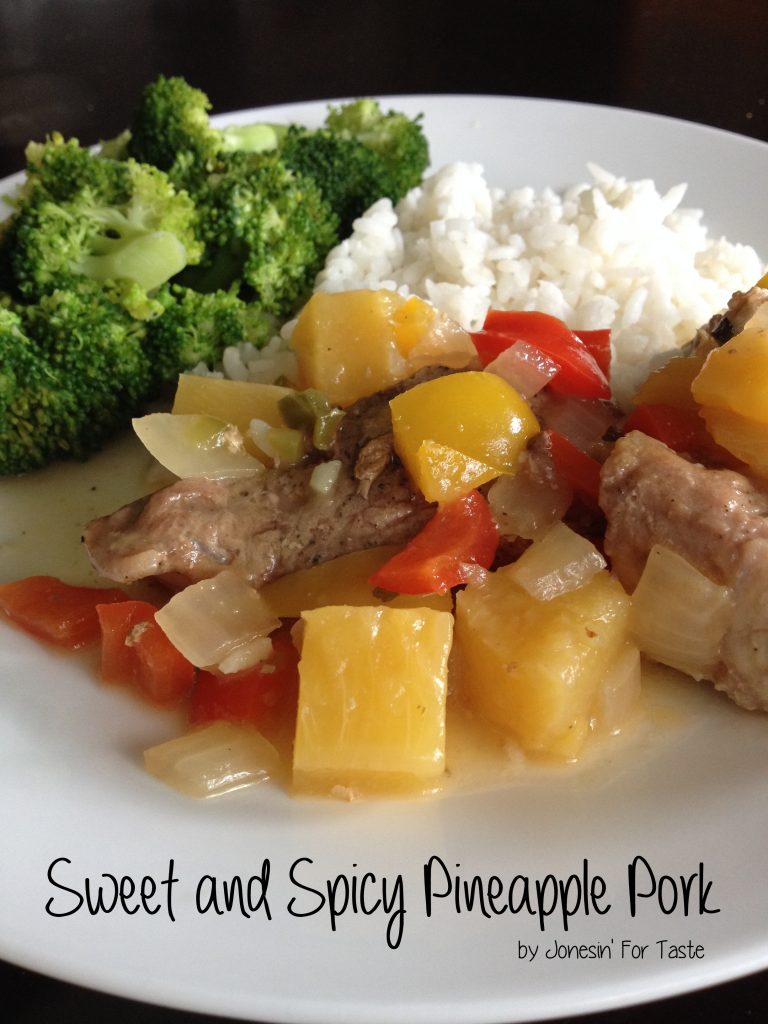 Grilled pork gets a kick from a sweet pineapple sauce with spicy jalapenos.