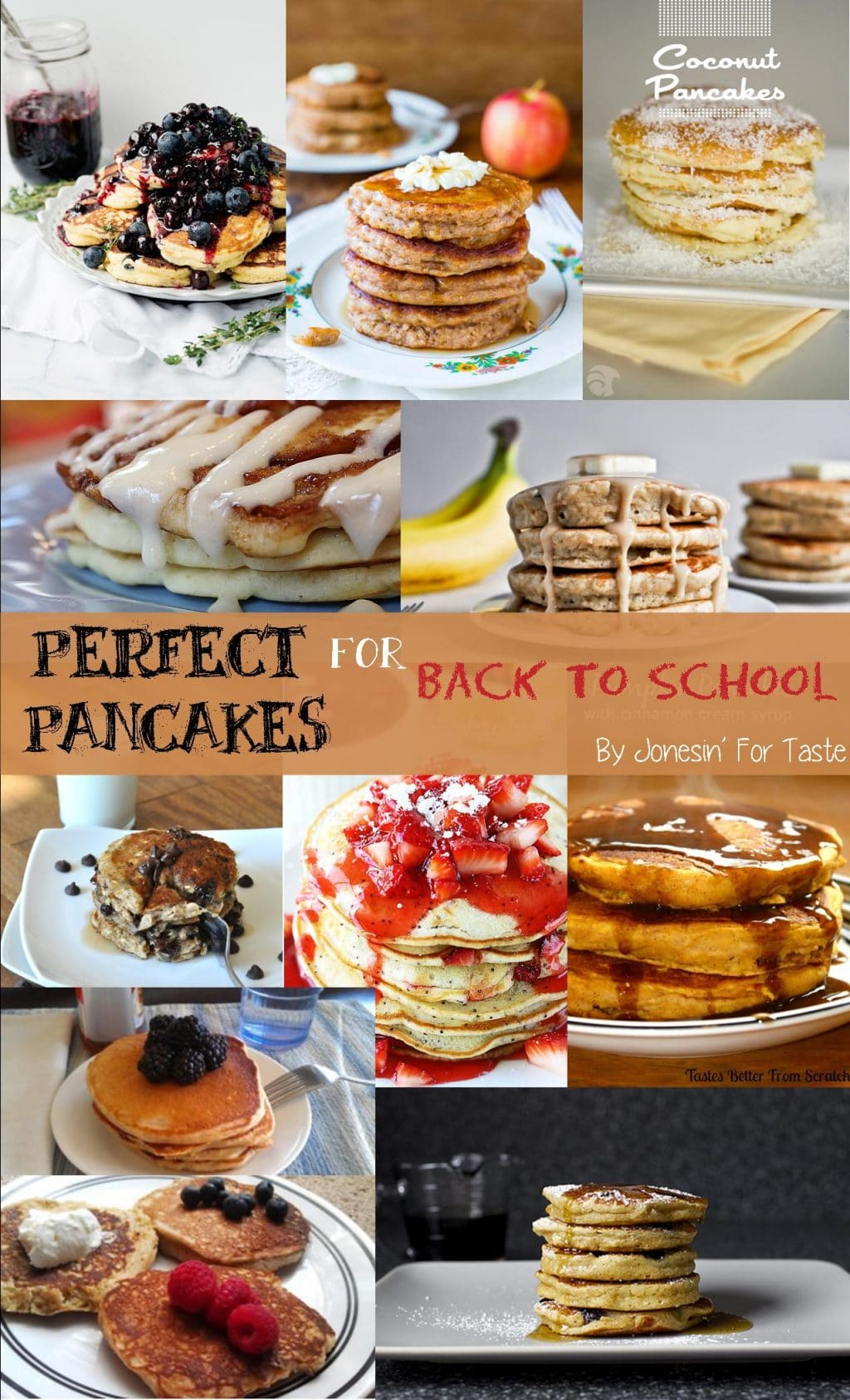 Perfect Pancakes Roundup