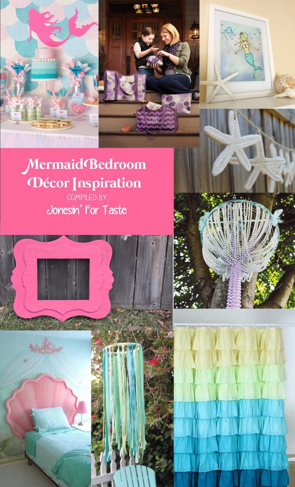 Mermaid Bedroom Inspiration