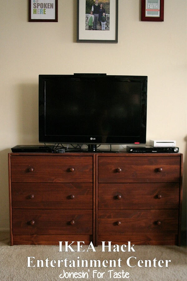 IKEA Hack Entertainment Center