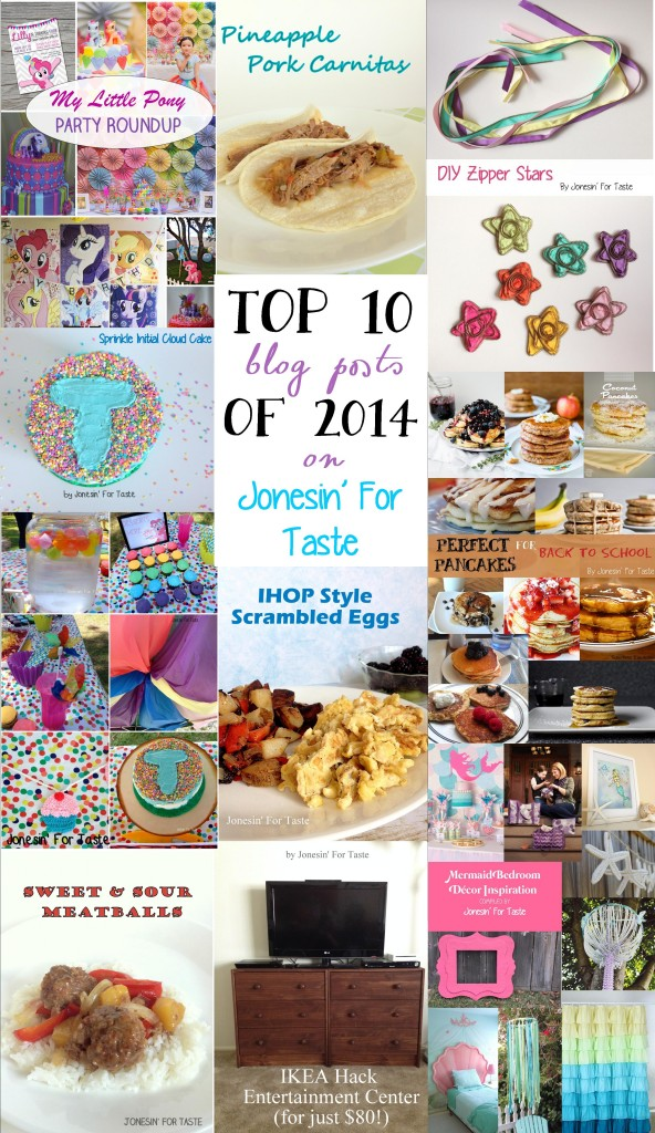 Top 10 posts of 2014 on Jonesin' For Taste