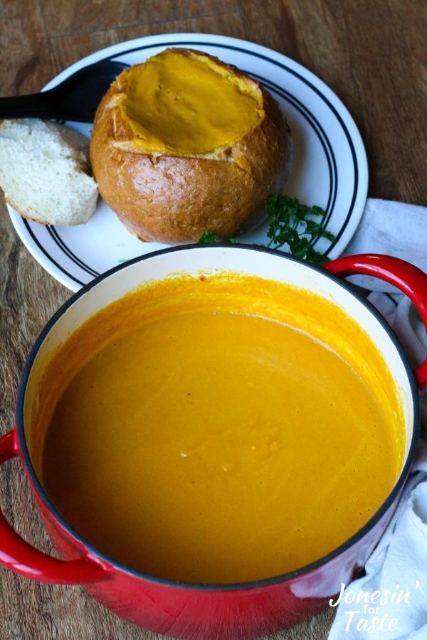 30 Minute German Style Pumpkin Soup