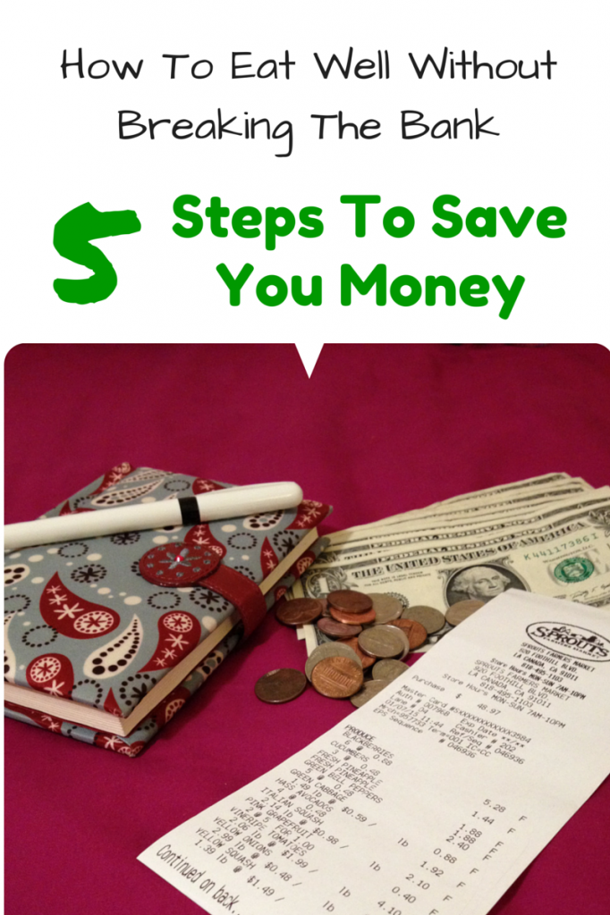 How To Eat Well Without Breaking The Bank- 5 Steps to Save You Money (and maybe improve your diet too)