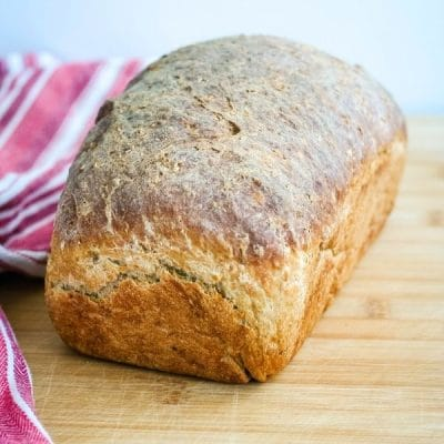 Oatmeal Breakfast Bread-by hand or bread machine