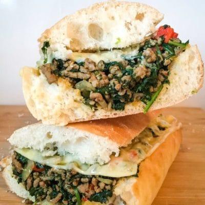 Quick Italian Sausage Sandwich