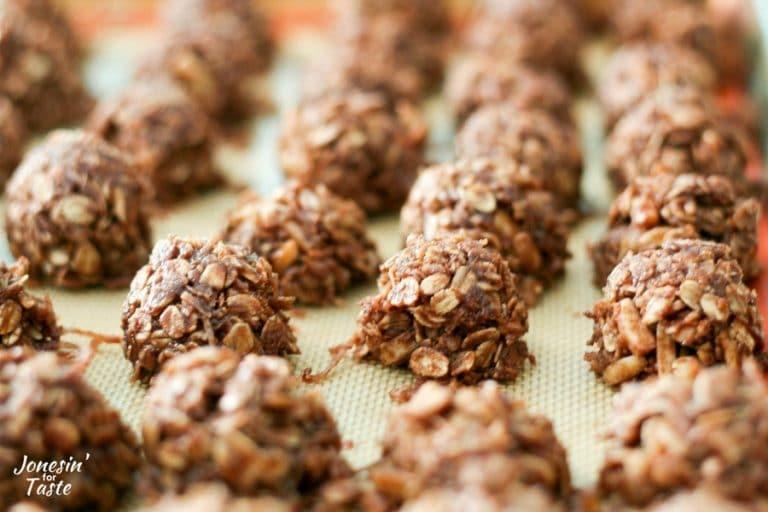 Almond Joy No Bake Cookies