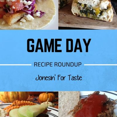 Game Day Recipe Round Up