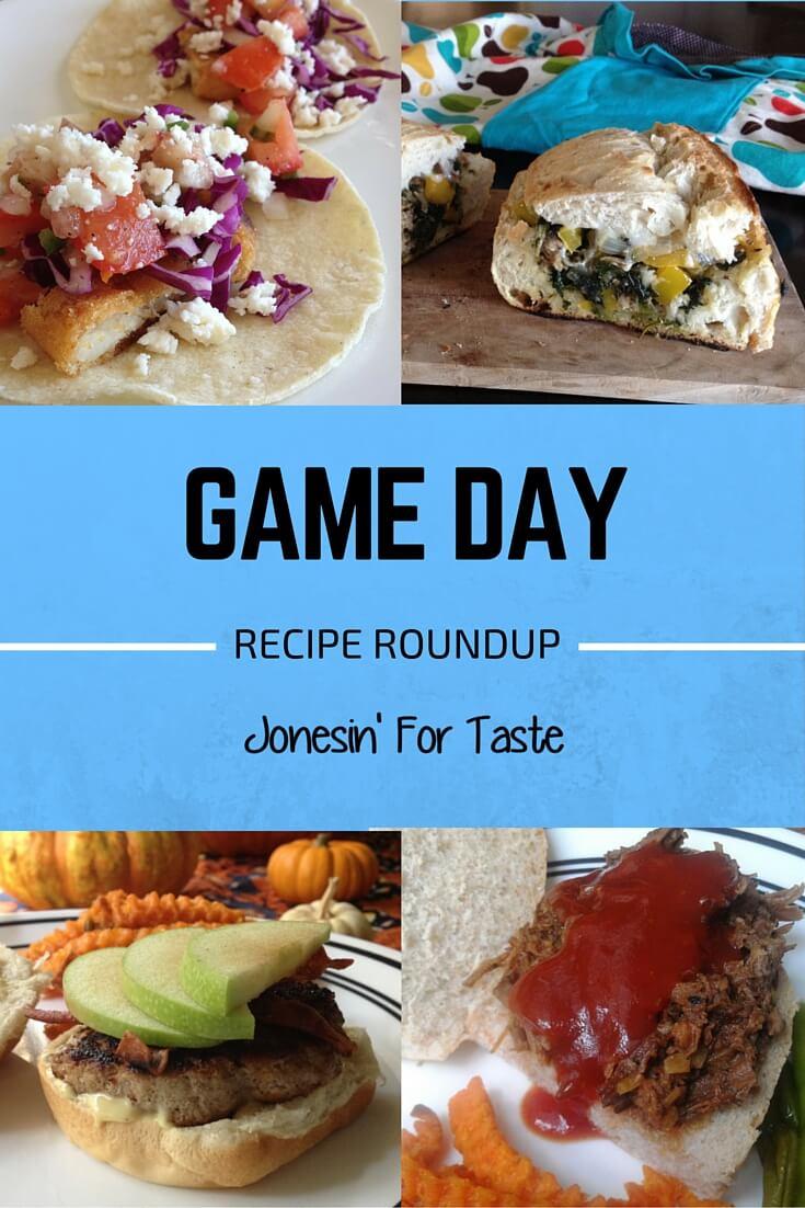 Game Day Recipe Round Up