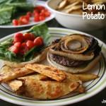 Lemon Pepper Potato Wedges