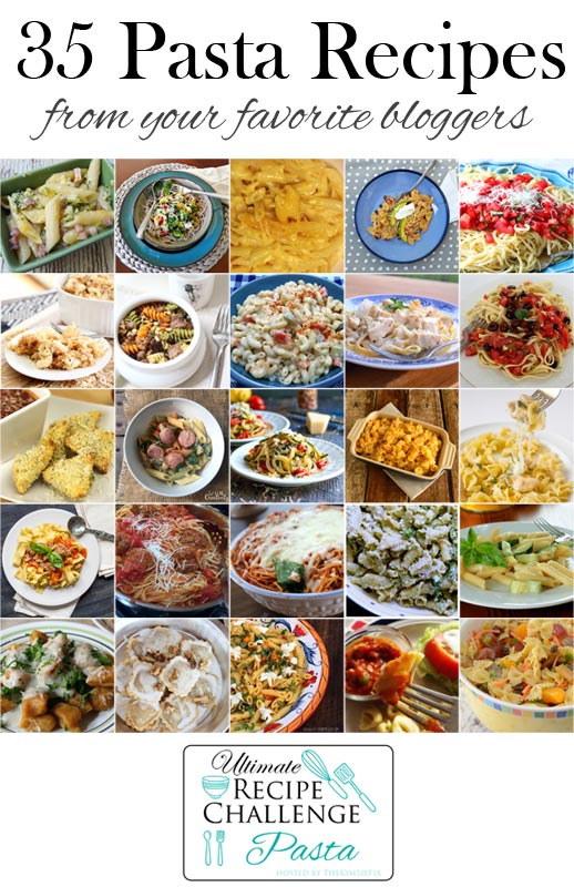 Check out May's Ultimate Recipe Challenge with over 35 pasta recipes.