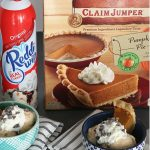 Have leftover pumpkin pie? Create a new dessert with these Pumpkin Pie Ice Cream Sundaes to reinvent those leftovers!