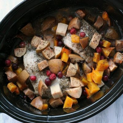 Slow Cooker Harvest Roast- Ultimate Recipe Challenge