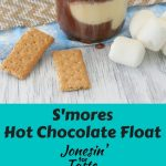 A S'mores Hot Chocolate Float is a fun way to combine two favorites into one drink that you can enjoy during the holidays or anytime of the year!