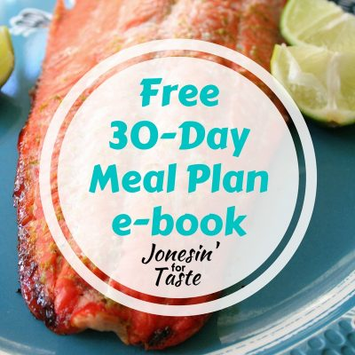 30-Day Meal Plan E-book