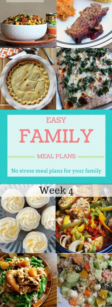 Meal planning doesn't have to be stressful when you have 6 bloggers bringing you a whole weeks worth of meal ideas!