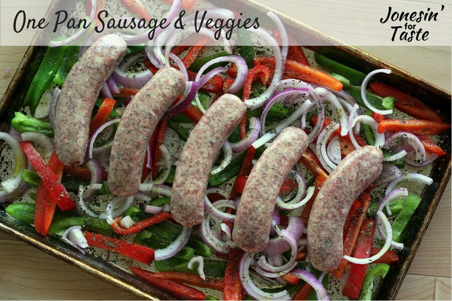 One Pan Sausage & Veggies CONTENT