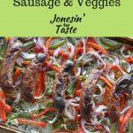 One Pan Sausage & Veggies-LONG PIN