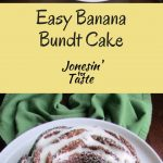 Easy Banana Bundt Cake