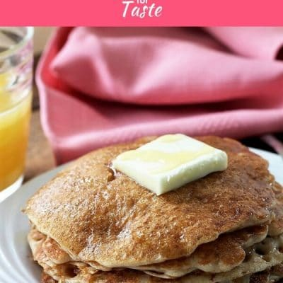 Buttermilk Blender Pancakes