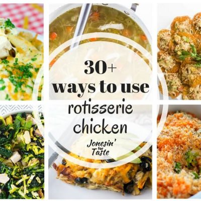 Ways to Use Rotisserie Chicken