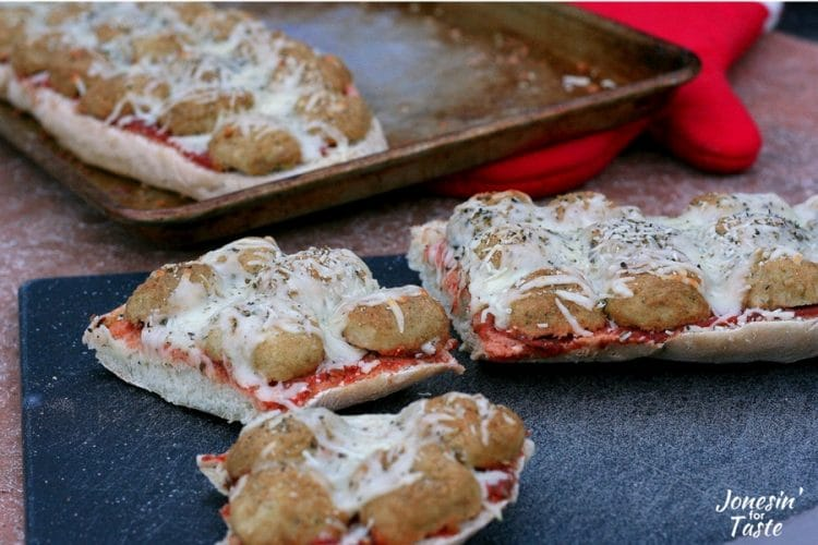 Meatball Sub French Bread Pizza