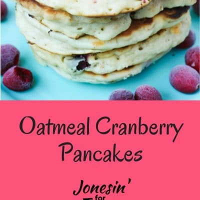 Oatmeal Cranberry Pancakes