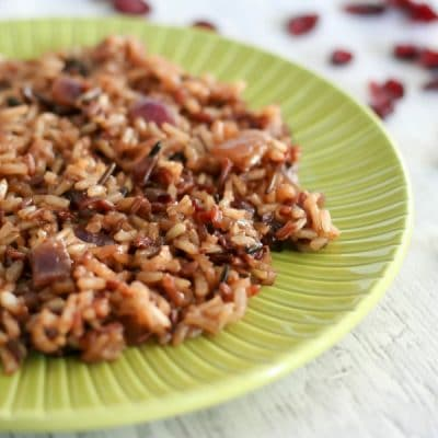 Orange Cranberry Wild Rice