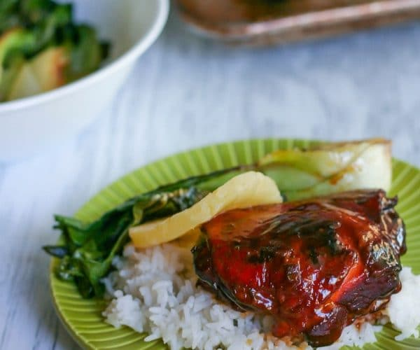 Slow Cooker Sticky Pineapple Chicken