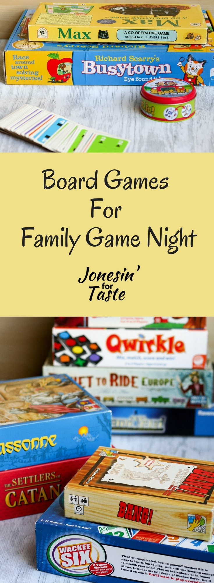 With over 15 board games for family game night it doesn't need to mean a boring night in. There are lots of board games perfect for older and younger children that the whole family can enjoy. #familynight #boardgames #familygamenight