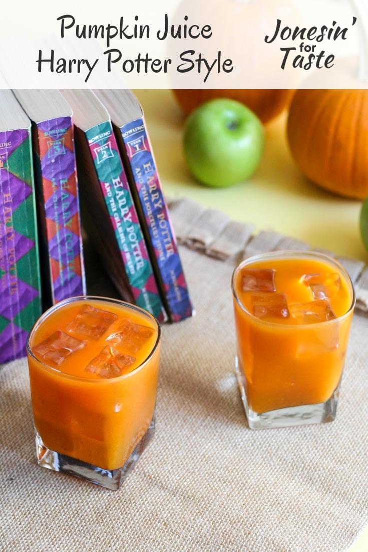 Pumpkin Juice- Harry Potter Style
